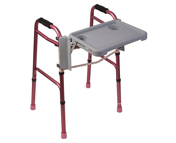 Mabis DMI Fold Away Walker Tray