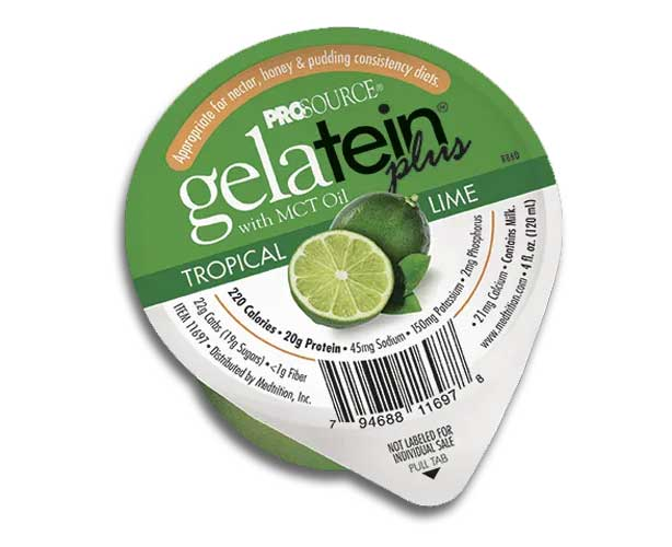 Gelatein Plus Gelatin Dessert with MCT Oil