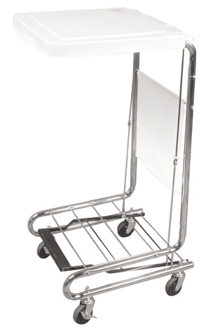 Hamper Stand with Non-Slip Pedal