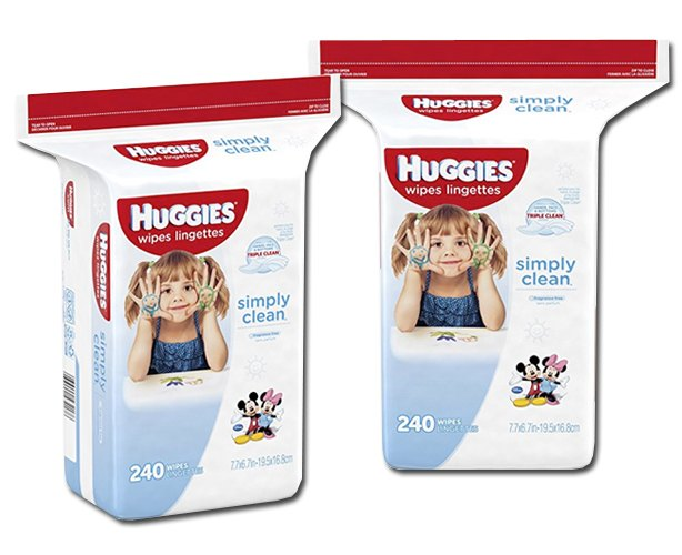 Huggies Huggies Simply Clean Wipes