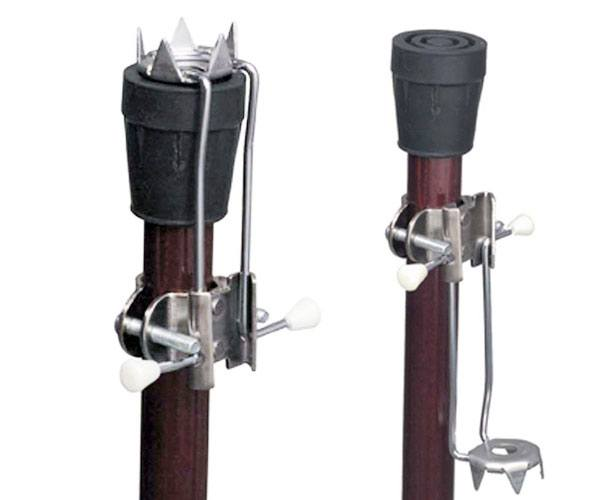 5-Prong Ice Grip Cane/Crutch Attachment
