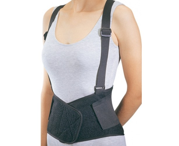 DJ Ortho Industrial Back Support with Suspenders