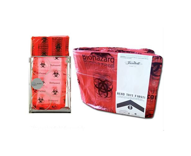 Janibell Disposal Systems Janibell Red Biohazard Liners