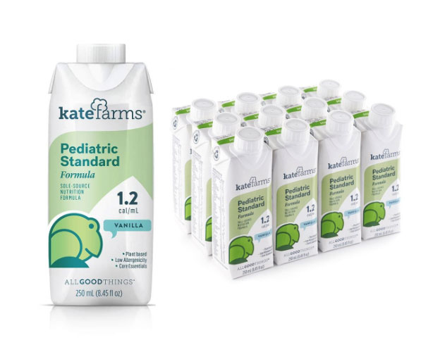 Kate Farms Pediatric Standard 1.2 Nutrition Formula