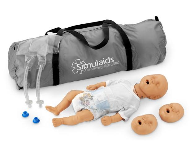 Anatomical World Wide Kim Newborn CPR Manikin With Carry Bag