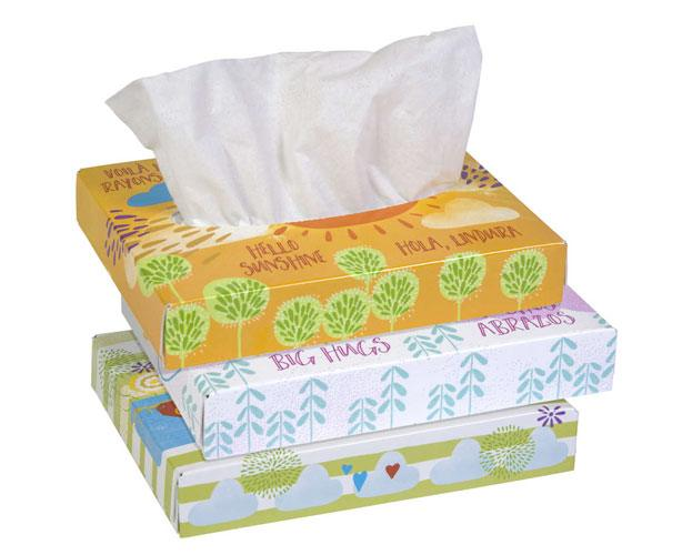 Kleenex Facial Tissue, 2-ply