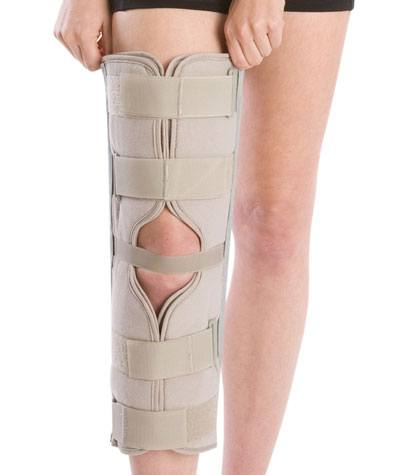 3-Panel Knee Splint with Cotton/Terry Liner
