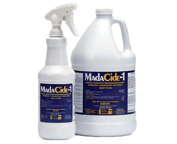 MADA MEDICAL Madacide-1 Disinfectant Cleaner