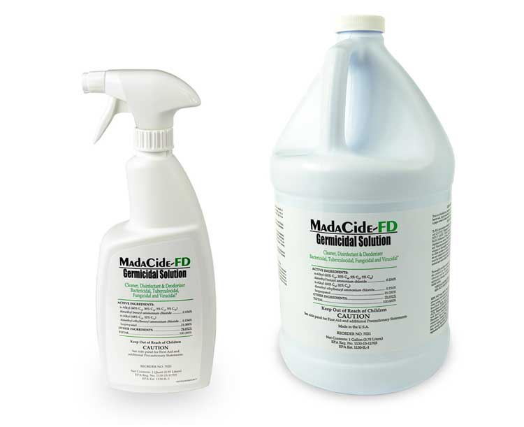 Madacide FD Fast Drying Disinfectant Cleaner