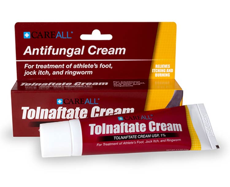 Major Pharmaceuticals Major Tolnaftate 1% Antifungal Cream, 0.5 oz Tube