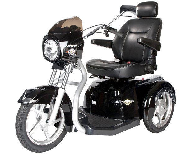 Drive Medical Maverick Executive Three Wheel Power Scooter