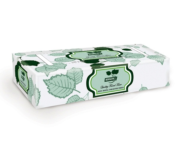 RENSOW Rensow Facial Tissue, 2-ply
