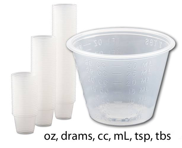 MDX Industries Medicine Cups