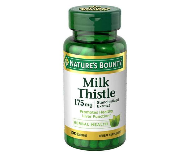 Nature's Bounty Milk Thistle-100 Capsules