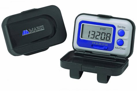 Mini Calorie Pedometer with Protective Case