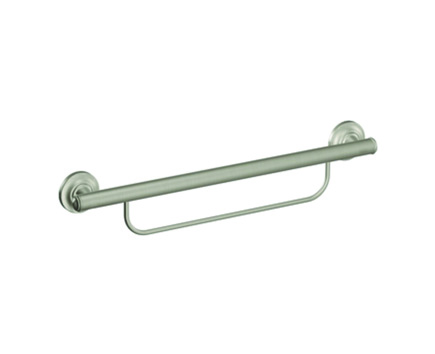 Moen Designer Grab Bar with Integrated Towel Bar