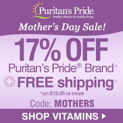 Mother's Day Weekend! 17% Off Your Order + Buy 1 Get 2 Free. Plus Free Shipping. Code: MOTHERS.