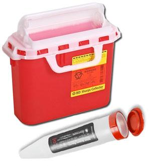 Sharps Collectors / Needle Collectors for Infection Control