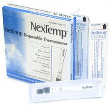 Medical Indicators NexTemp Single Use Disposable Thermometers