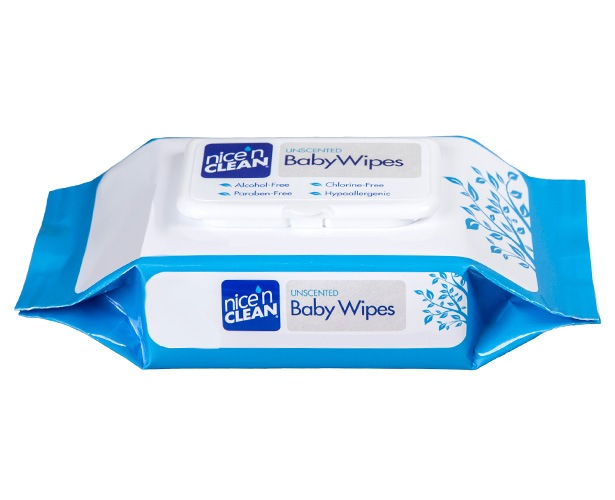 Nice'n Clean Baby Wipes (Unscented)