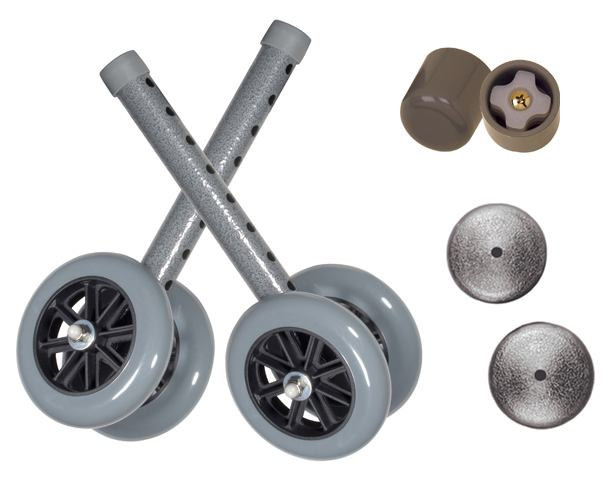 5 in.  Walker Wheels for Folding Walker