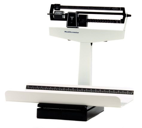 Health-O-Meter Mechanical Pediatric Balance Beam Scale