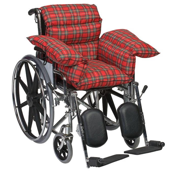 Plaid Standard Comfort Cushion