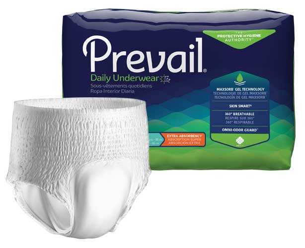 Prevail Incontinence Products Prevail Extra Protective Underwear