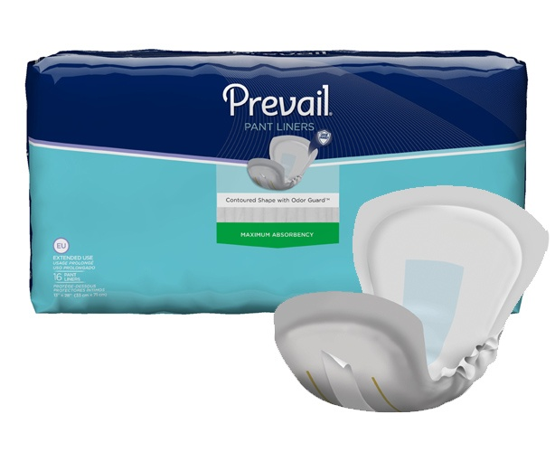 Prevail Incontinence Products Prevail Pant Liners