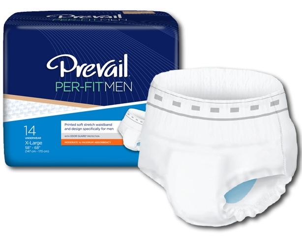 Prevail Incontinence Products Prevail Per-Fit Underwear for Men