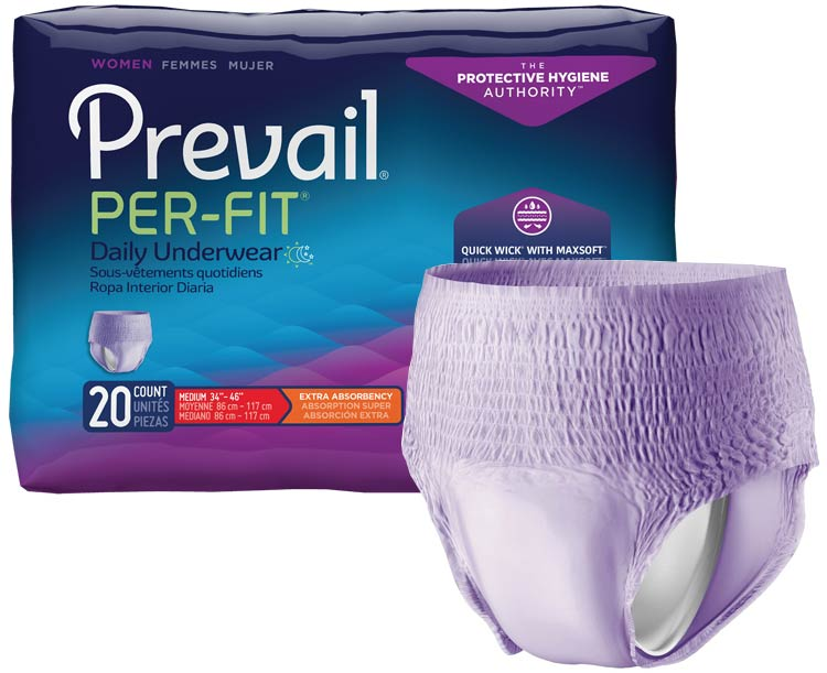 Prevail Incontinence Products Prevail Per-Fit Underwear for Women
