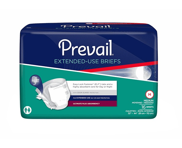 Prevail PM Extended Wear Briefs