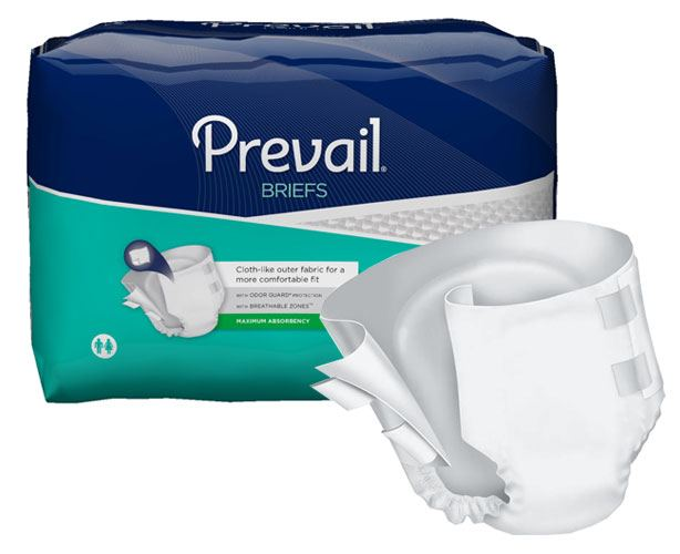 Prevail Incontinence Products Prevail Specialty Size Adult Briefs