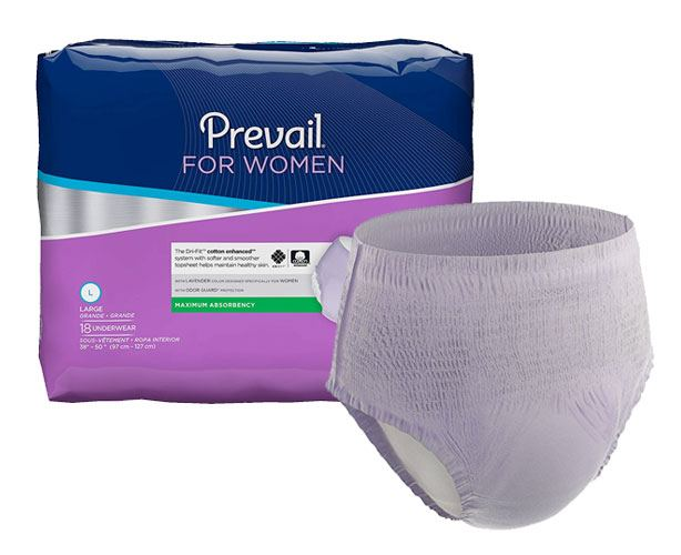 Prevail Incontinence Products Prevail Underwear for Women