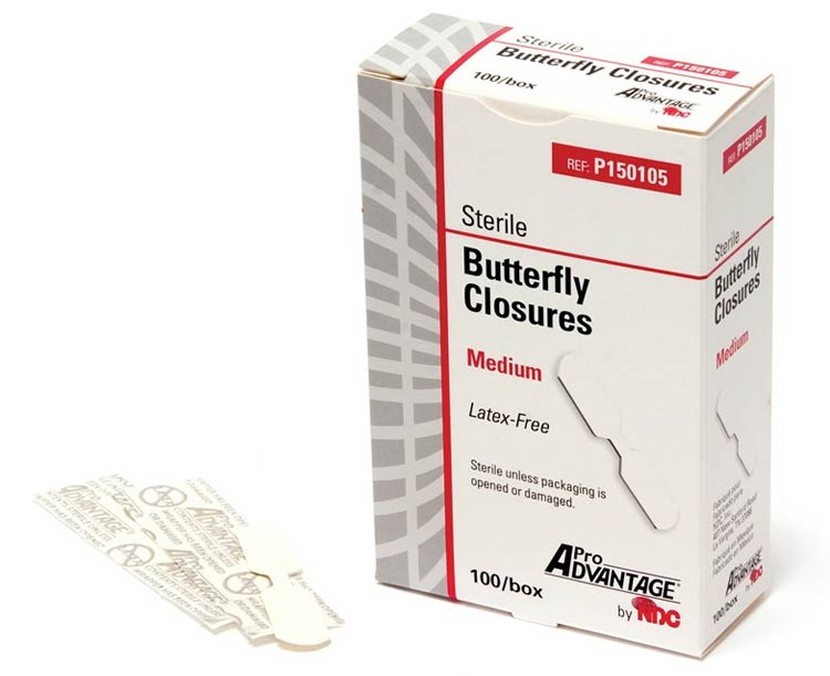 Pro Advantage Butterfly Wound Closures