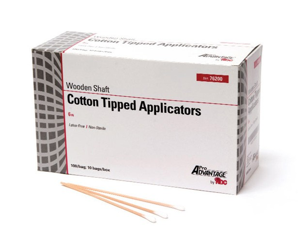 Pro Advantage Cotton Tipped Applicators, Non-Sterile