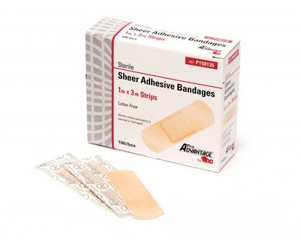 Pro Advantage Sheer Strip Adhesive Bandages
