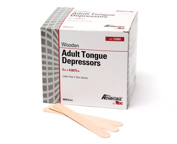 Pro Advantage Tongue Depressors