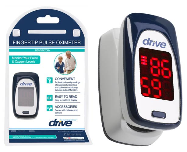 Drive Medical Drive Medical Pulse Oximeter - Fingertip