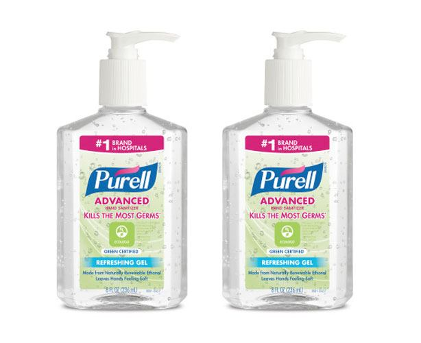 Gojo Purell Certified Green Hand Sanitizer