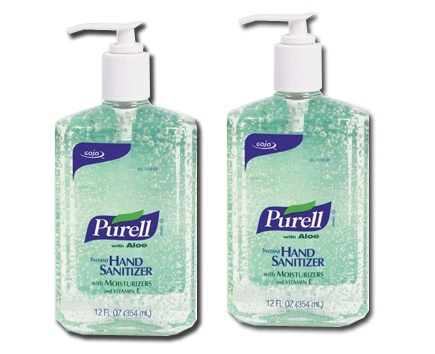 Gojo Purell Advanced Hand Sanitizer with Aloe