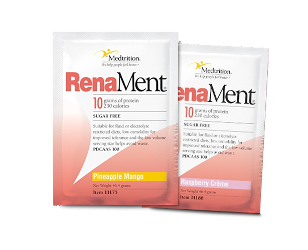 Medtrition RenaMent Drink Mix for Dialysis