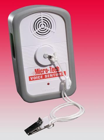 Micro-Tech Enterprises Sentinel Fall Alarm with Voice