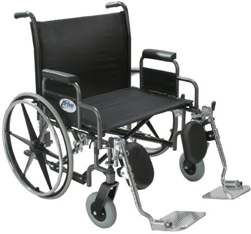 Drive Medical Sentra Heavy Duty, Extra Wide, Wheelchair, 30