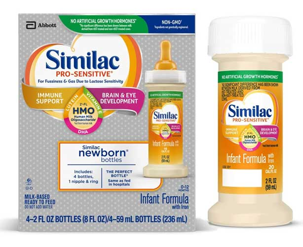 ABBOTT NUTRITION Similac Pro-Sensitive with Iron