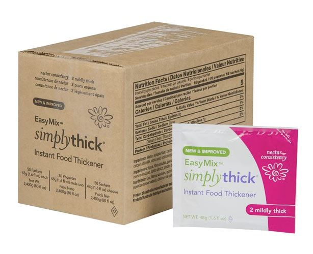 SimplyThick Easy Mix Gel Thickener Packets