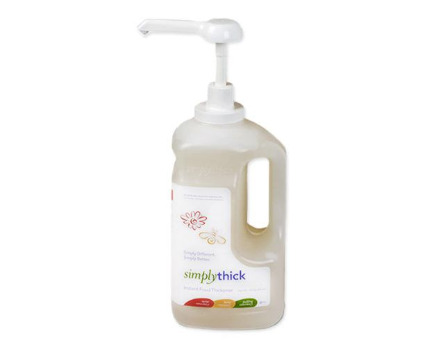 Simply Thick SimplyThick Gel, 64 oz Pump Bottles, Case