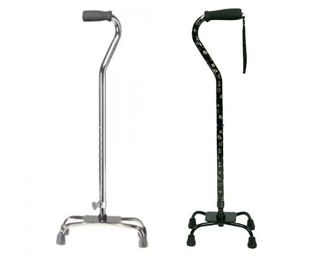 Drive Medical Quad Cane, Large Base