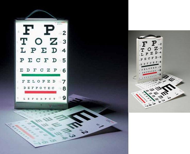 Tech-Med Tech-Med Illuminated Eye Test Cabinet