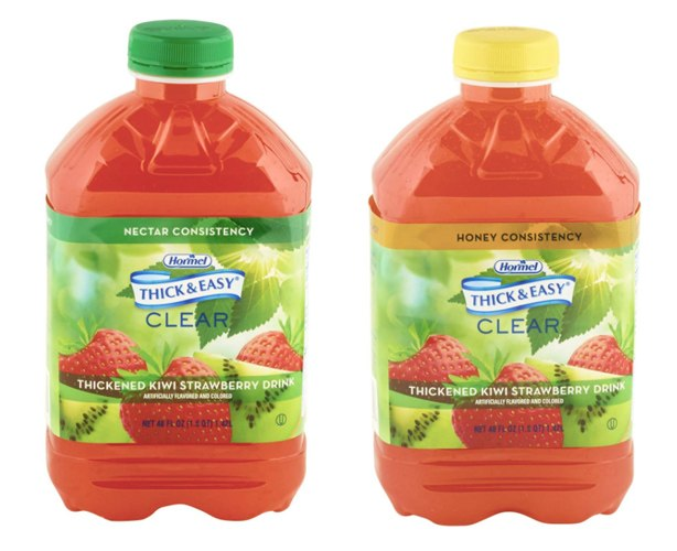 Hormel Health Labs Thick & Easy Thickened Kiwi Strawberry Drink